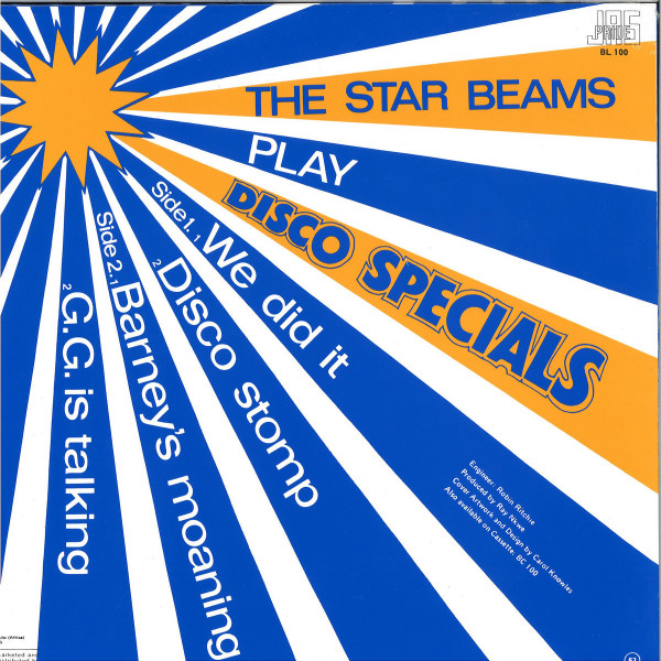 The Star Beams - Play Disco Specials (LP) (Back)