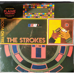 The Strokes - Room on Fire (Ltd. Orange/Red Translucent LP)