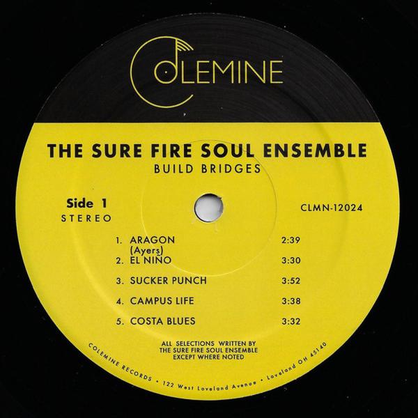 The Sure Fire Soul Ensemble - Build Bridges (LP) (Back)