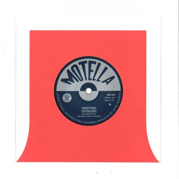 "The Toreadors - Thembi / Gwinyitshe (7"" Vinyl) (Back)"