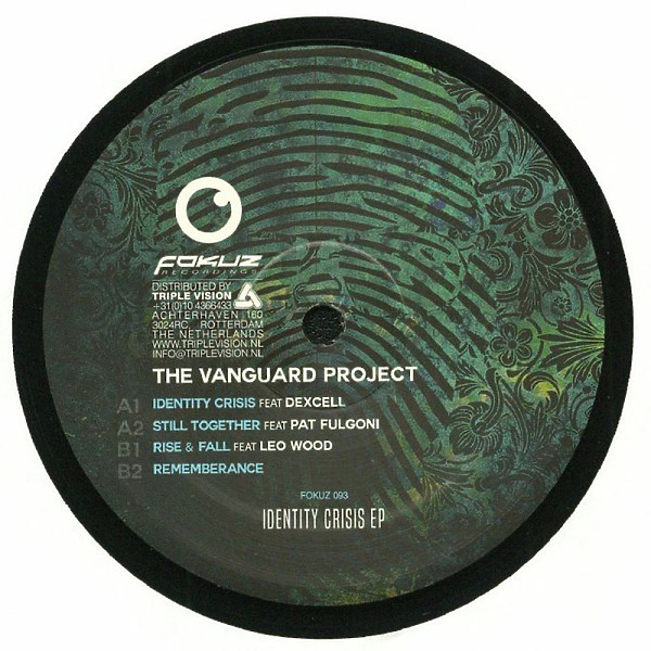The Vanguard Project - Identity Crisis EP (Back)