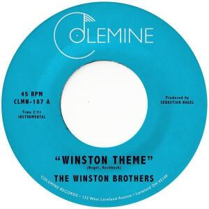 "The Winston Brothers - Winston Theme  (7"" Single Vinyl)"