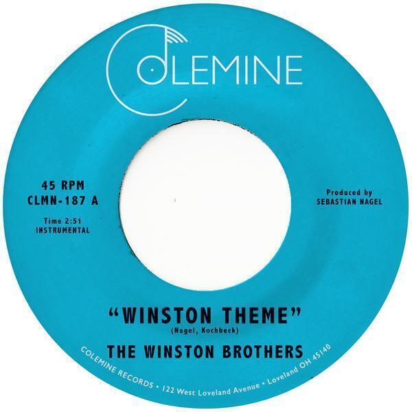 "The Winston Brothers - Winston Theme  (7"" Single Vinyl)"