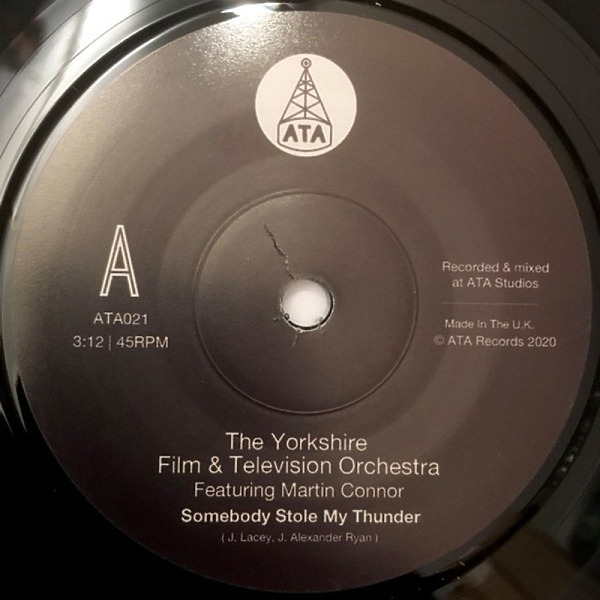 "The Yorkshire Film & Television Orchestra - Somebody Stole My Thunder (7"")"