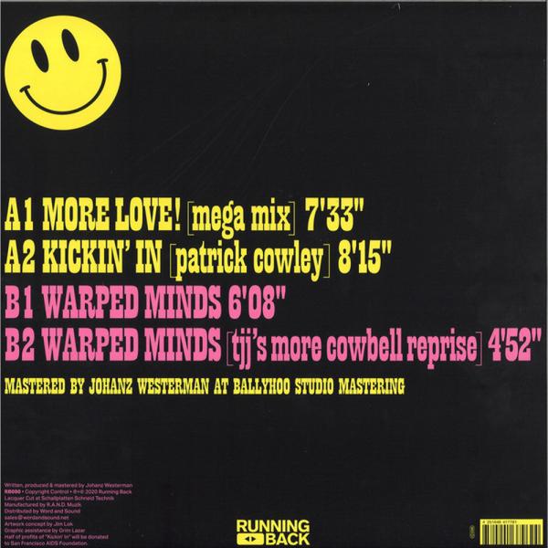 Thee J Johanz - More Love! (Back)