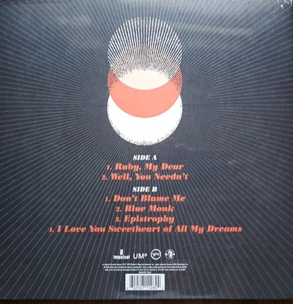 Thelonious Monk - Palo Alto (180g Gatefold Vinly LP+Poster) (Back)