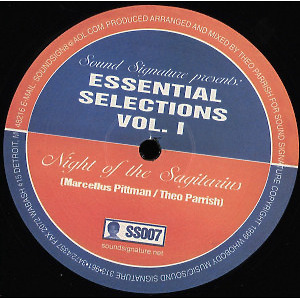 Theo PARRISH / MARCELLUS PITTMAN - Essential Selections Volume 1