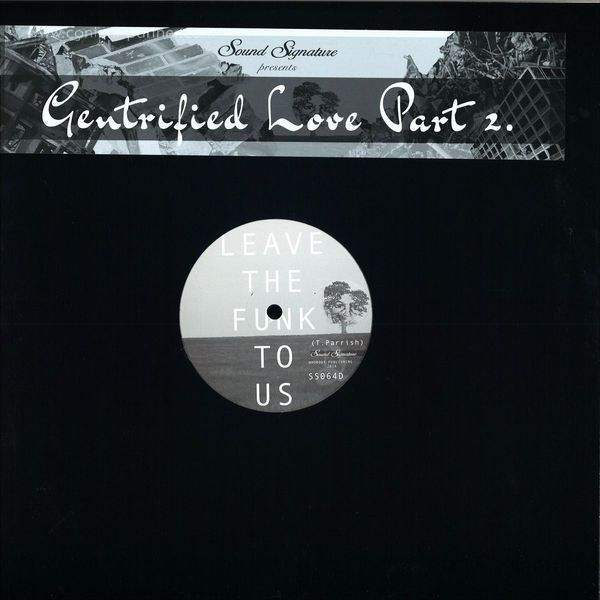 Theo Parrish, Duminie Deporres & Waajeed - Gentrified Love Part 2 (Back)