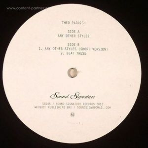 Theo Parrish - Any Other Styles
