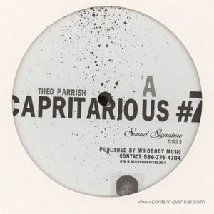 Theo Parrish - Capritarious #7 (Repress)