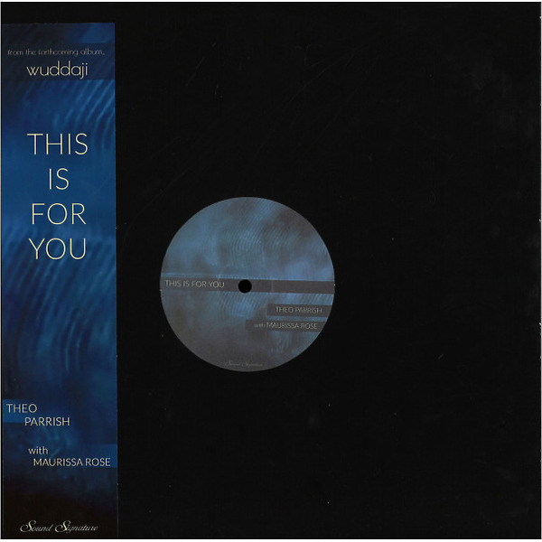 Theo Parrish - This Is For You