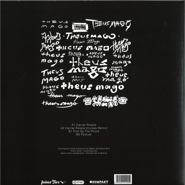 Theus Mago - Carrier People (Back)