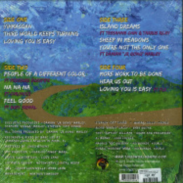 Third World - More Work To Be Done (2LP Gatefold) (Back)
