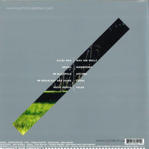 Thore Pfeiffer - Im Blickfeld (LP + CD) (Back)