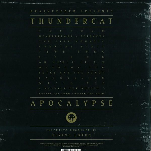 Thundercat - Apocalypse (2LP+MP3) (Back)