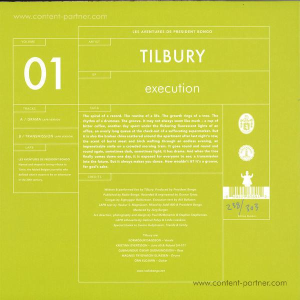 Tilbury - Execution (Back)