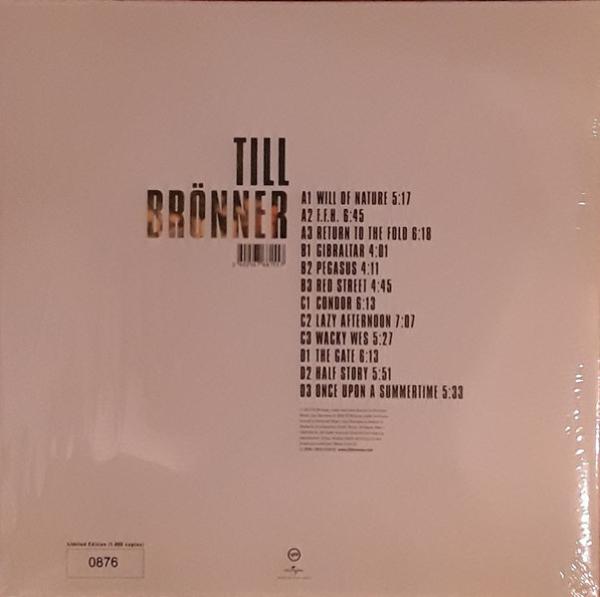 Till Brönner - Till Brönner (Ltd. Red Coloured Vinyl 2LP) (Back)