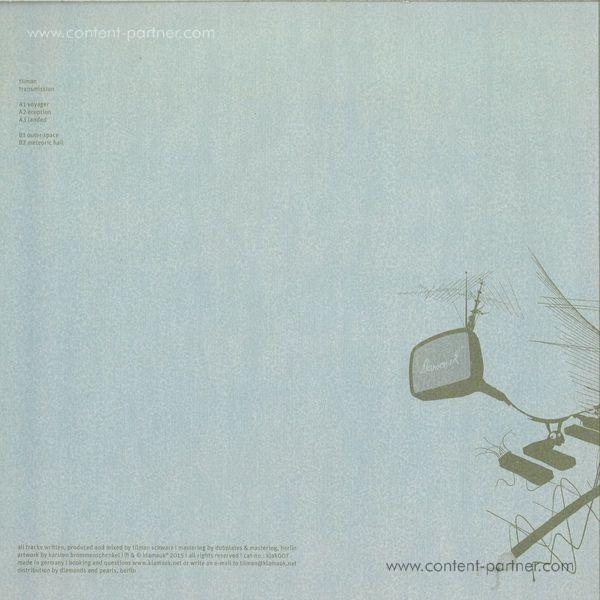 Tilman - Transmission EP (Back)