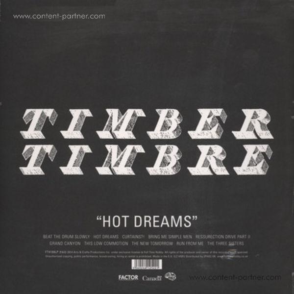 Timber Timbre - Hot Dreams (Ltd. Colour Repress+MP3) (Back)