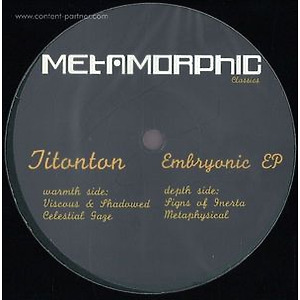 Titonton - Embryonic EP (Vinyl Only)