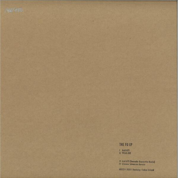 Tobias Schmid - THE FU EP (Back)