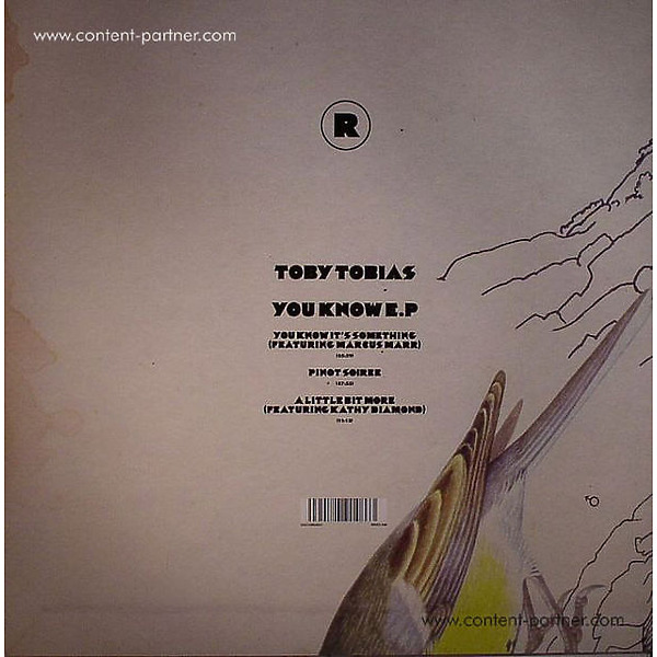 Toby Tobias - You Know (Back)