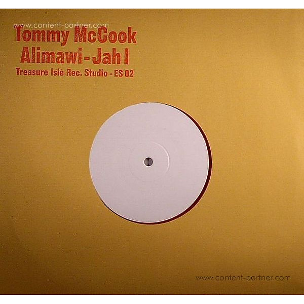 Tommy McCook & The Supersonics - Alimawi c/w Jah I