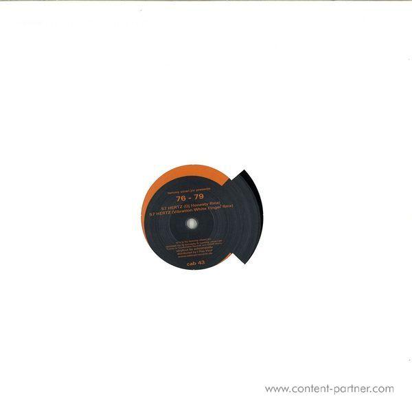 Tommy Vicari Jnr Presents 76 - 79 - 57 Hertz (dj Honesty, Vibration White Finger Rmxs) (Back)
