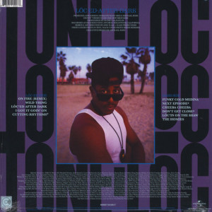 Tone-Loc - Loc-ed After Dark (LP reissue) (Back)