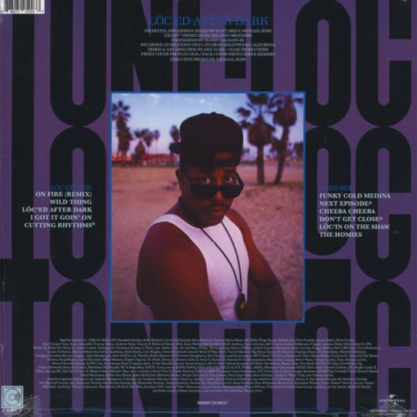 Tone-Loc - Loc-ed After Dark (LP reissue) (Back)