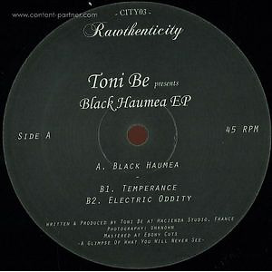 Toni Be - Black Haumea EP