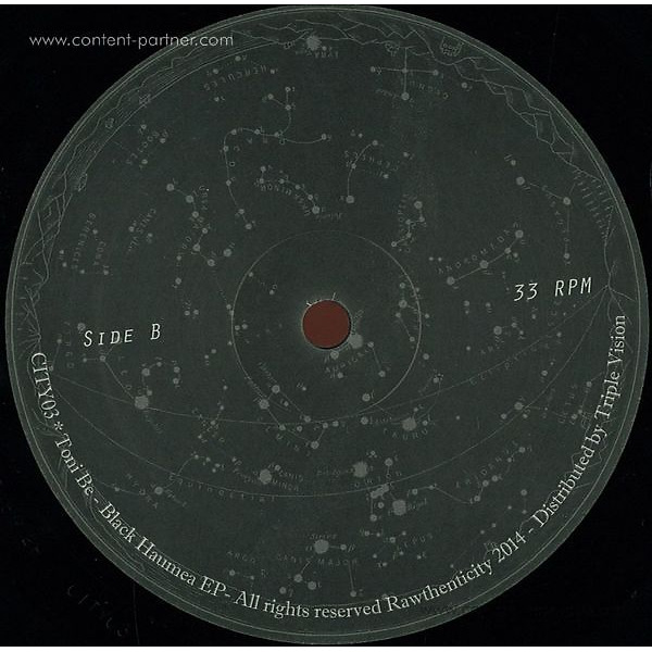 Toni Be - Black Haumea EP (Back)