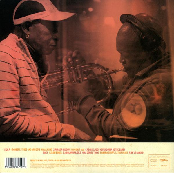 Tony Allen & Hugh Masekela - Rejoice (180g Vinyl LP) (Back)