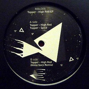 Topper - High Red EP