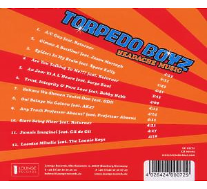Torpedo Boyz - Headache Music (Back)