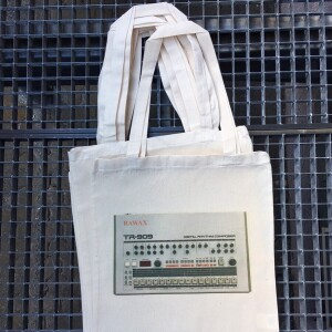 Tote Bag Rawax - 909 Bag with RAWAX logo