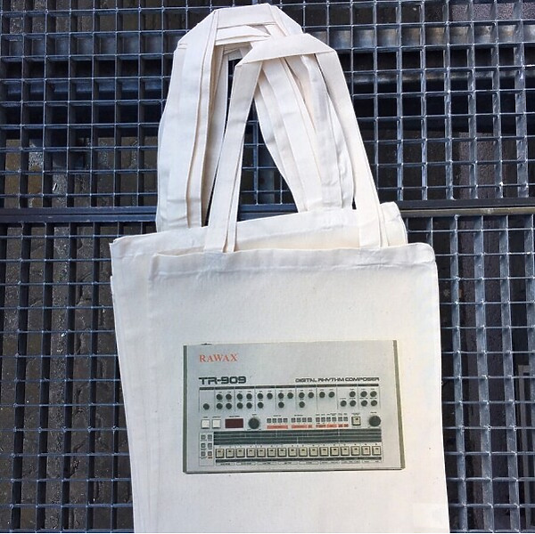Tote Bag Rawax - 909 Bag with RAWAX logo