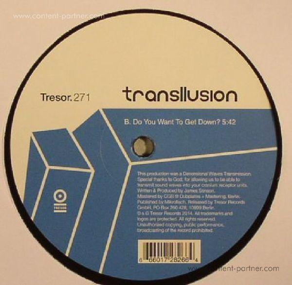 Transllusion - Mind Over Pos. & Neg. Dimensional Matter (Back)