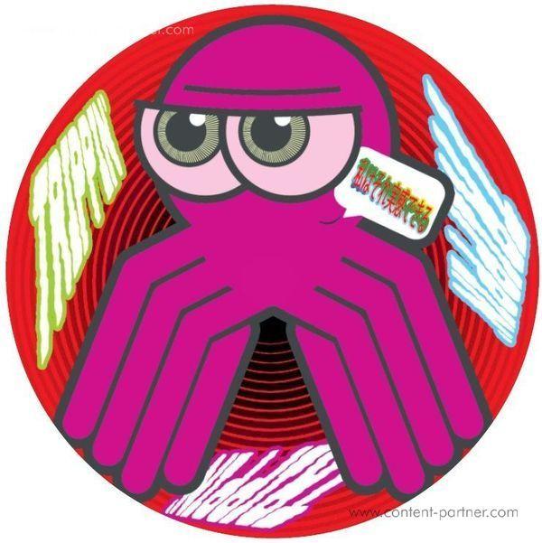 Trippin Aka DJ Octopus - Trippin Aka DJ Octopus EP (Back)