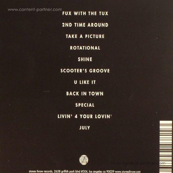 Tuxedo (Mayer Hawthorne & Jake One) - Tuxedo II (LP+MP3) (Back)