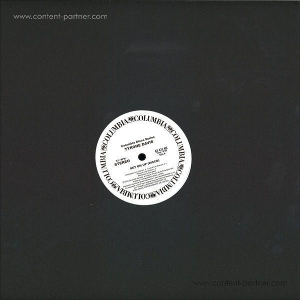 Tyrone Davis - Get On Up (disco) (Back)