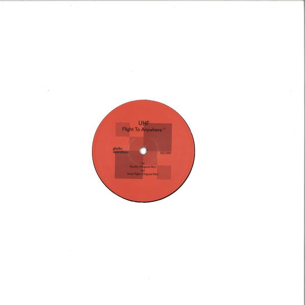 UHF - FLIGHT TO ANYWHERE EP (Back)