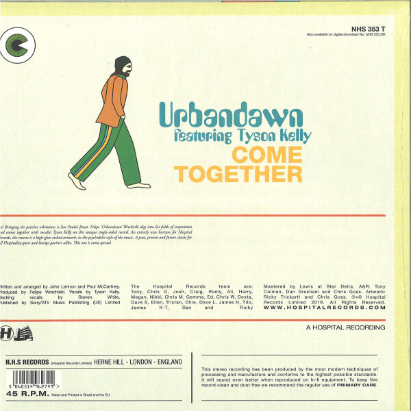 URBANDAWN - COME TOGETHER (Back)