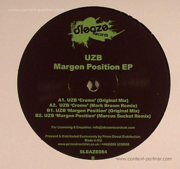 UZB - Margen Position EP, Mark Broom Rmx (Back)