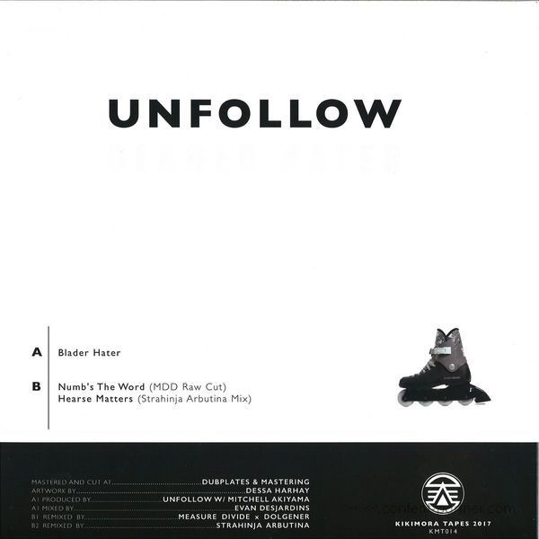 Unfollow - Blader Hater (Back)