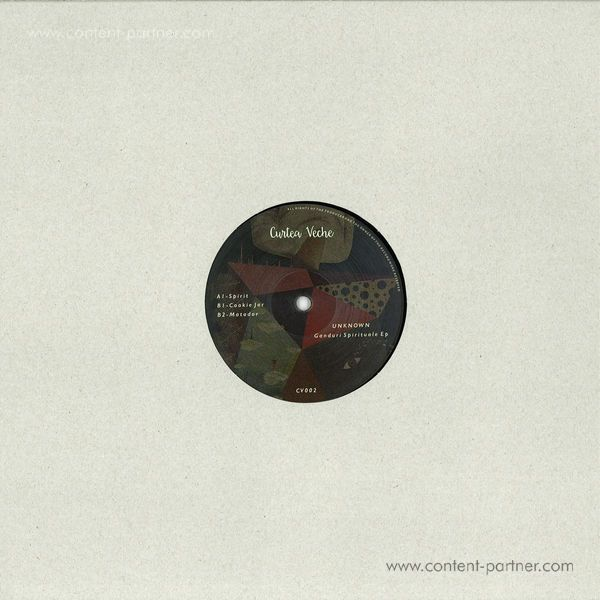 Unknown Artist - Ganduri Spirituale EP (Vinyl Only) (Back)