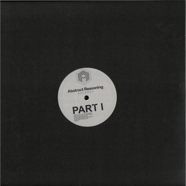 Unknown Artist - PARALLEL EP PART 1 (Back)