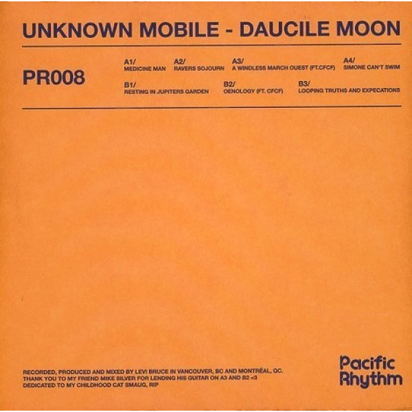 Unknown Mobile - Daucile Moon (Back)