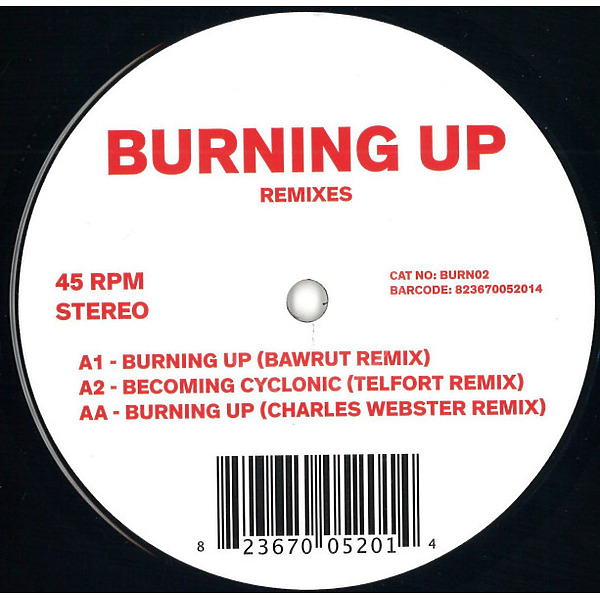 Unknown - Burning Up Remixes (Inc. Bawrut / Telfort / Charle