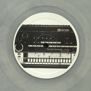 Unknown - Eight O Eight [semi-clear silver vinyl] (Back)